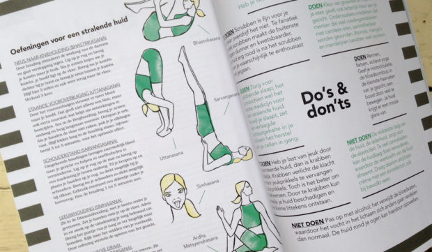 yoga illustraties