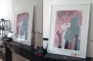 Metropolisa print Ingrid Bockting