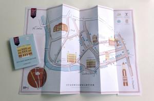 plattegrond stadhuiskwartier utrecht